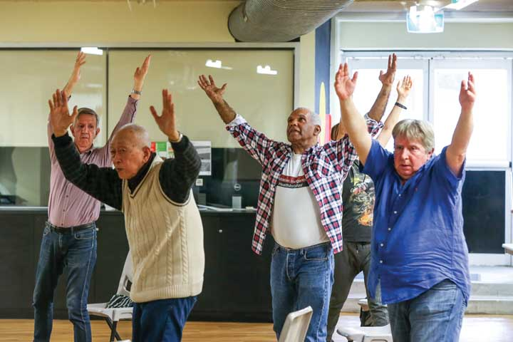 Inclusive Qi Gong at Redfern Community Centre