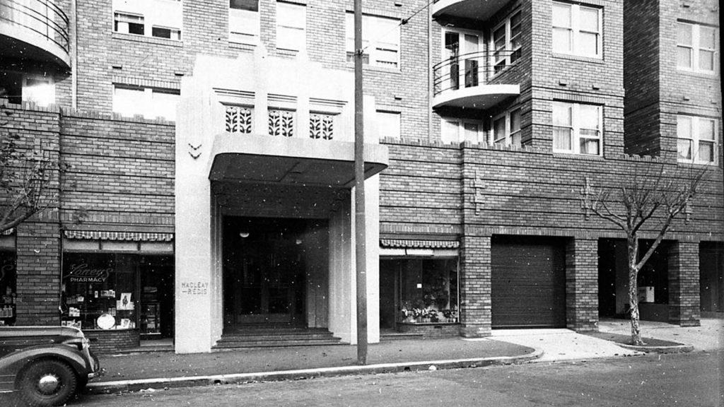 The Macleay Regis building